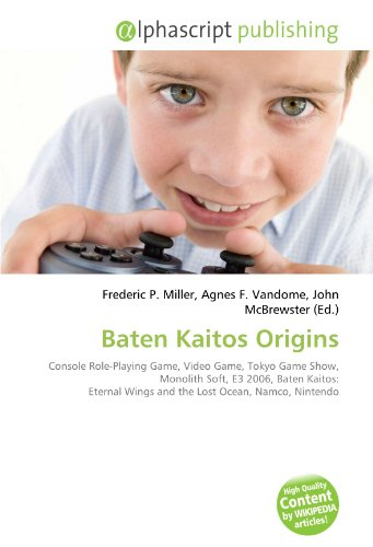 Baten Kaitos Origins: Console Role-Playing Game, Video Game, Tokyo Game Show, Monolith Soft, E3 2006, Baten Kaitos: Eternal Wings and the Lost Ocean, Namco, Nintendo