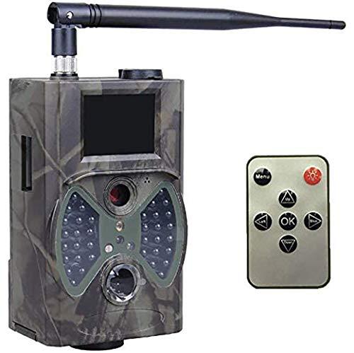 FYLD LBXKE HC-300M Wildkamera, Trail-Kamera Jagdkamera Fotofalle 12MP 1080P HD Beutekameras Outdoor Sports Kamera 120° Weitwinkel IR Nachtsicht IP65 Wasserdicht mit 36 LEDs, Triggerzeit 0.8s