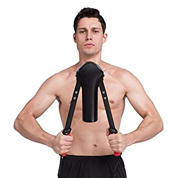 Power Twister Arm Exerciser for Chest Arm and Shoulder Workout Adjustable 22-440lbs Arm and Shoulder Muscle Training Machine,Fitness Equipment for Men and Women Home Office or Travel Gym