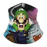 Luigis Ma_nsion 3 - Máscara de esquí para motocicleta, máscara de microfibra, multifuncional, sin costuras