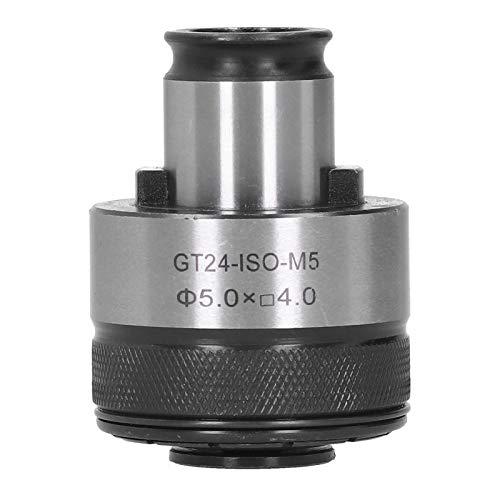 Mandril de boquilla flotante premium de 5.0 x 4.5 mm, portabrocas de acero de alta velocidad M5, portabrocas de torsión de acoplamiento rápido, protección contra sobrecarga, para máquinas de roscado,