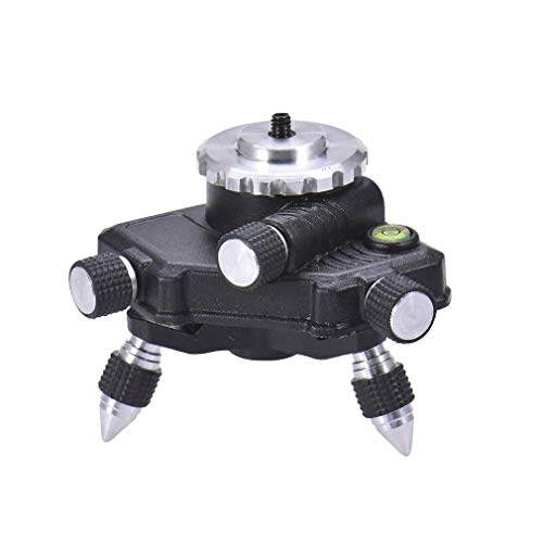 12 Lines 16 Lines Triangle Trimming Base Level Aluminium Alloy Universal Wall and Floor Integrated Machine(Black)