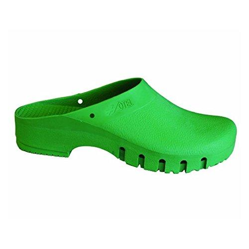 Socks Sanitarie Op Clog Antistatisch, grün