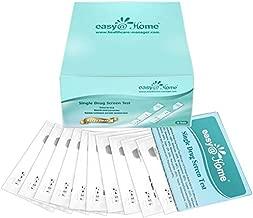 10 Pack - Easy@Home Marijuana (THC) Single Panel Drug Tests Kit - Individually Wrapped Single Panel THC Screen Urine Drug Test Kit with 50 ng/ml Cutoff Level - EDTH-114