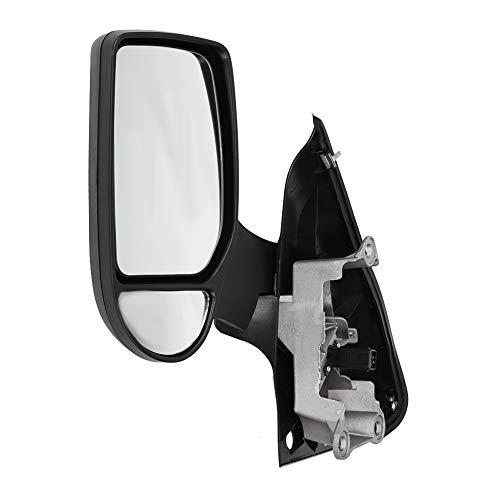 ROSEBEAR Specchietto Retrovisore Sinistro Lato Guida Elettrico Completo Porta a Battente per Ford Transit Mk6 Mk7