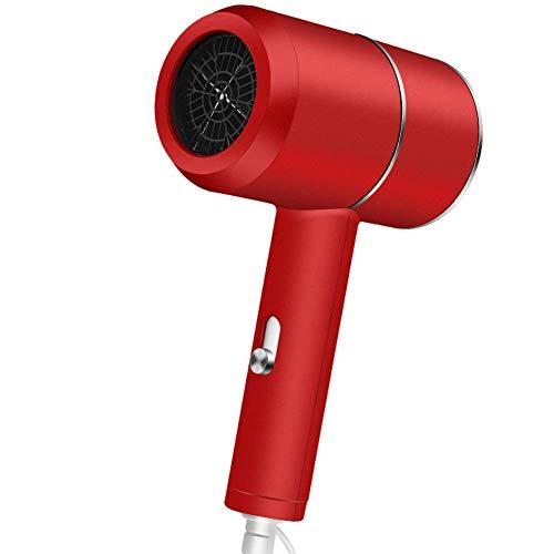 1000W secador de pelo profesional con difusor jónico acondicionado potente, rápido Secador de pelo secador del soplo, motor de CA de calor caliente y frío viento temperatura constante, azul LUDEQUAN