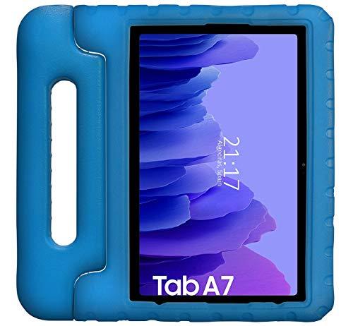 Funda Infantil Antigolpes con Asa para Samsung Galaxy Tab A7 (2020) T500 Color Azul