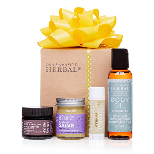 Natural Skin Care for New Mom and Baby, Postpartum Gifts For Mom, Natural Baby Gift, Ora's Amazing Herbal