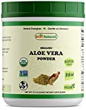Best Naturals Certified Organic Aloe Vera Powder 8.5 OZ (240 Gram), Aloe barbadenis, Non-GMO Project Verified & USDA Certified Organic