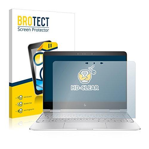 BROTECT Schutzfolie kompatibel mit HP Spectre x360 13-ac032ng klare Bildschirmschutz-Folie