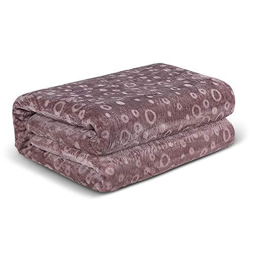CRYX elektrisch verwarmde deken, maximale afmeting 200 x 180 cm, met digitale controller timer en 5 warmtestanden