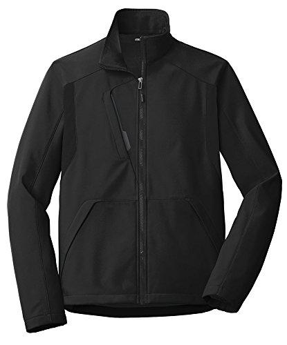 Joe's USA - Tech Inspired Soft Shell Jacket - 3XL - Black/Black