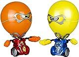Silverlit Kombat Balloon, Robot, Robo Twin Pack, niños, batallas de Robots, Juguetes Combate, Regalos para niño (88038)