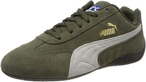 PUMA Unisex-Erwachsene Speedcat Og Sparco Sneaker, Forest Night-Puma Weiß, 39 EU