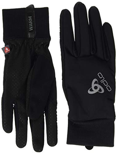 Odlo Unisex Gloves Element Warm Handschuhe, black, XXS