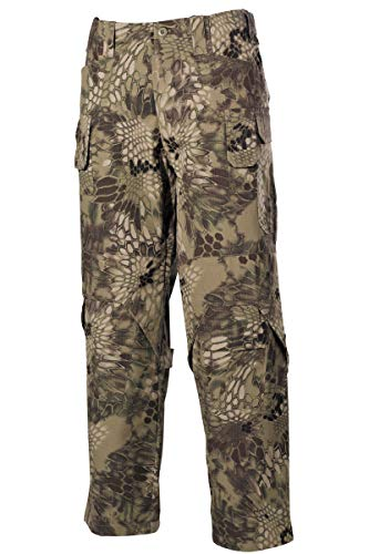 MFH Hombres Mission Combate Pantalones Ripstop Snake FG tamaño 3XL