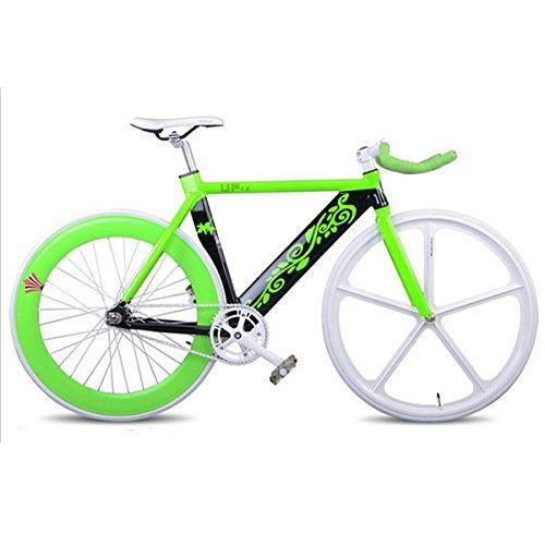 INBIKE 700C Fixed Gear Bike multicolore in alluminio bicicletta