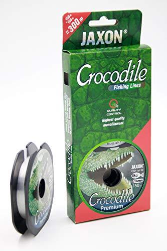 Jaxon 2x150m Angelschnur Crocodile Premium 0,10-0,45mm Spule Monofile (2x150m/0,30mm/16kg)