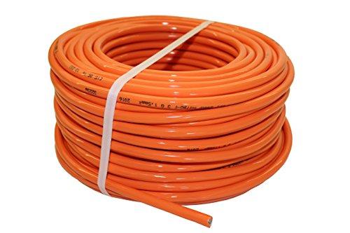 netbote24 PUR-Leitung H07BQ-F 3x1,5 bis 3x2,5 Baustellenkabel, Industriekabel geeignet für den Außenbereich 5-50m (3x1,5; 50m)