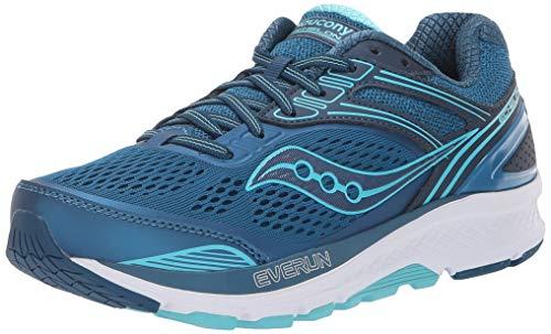 Saucony Women's S10468-2 Echelon 7 Running Shoe, Teal - 10.5 M US