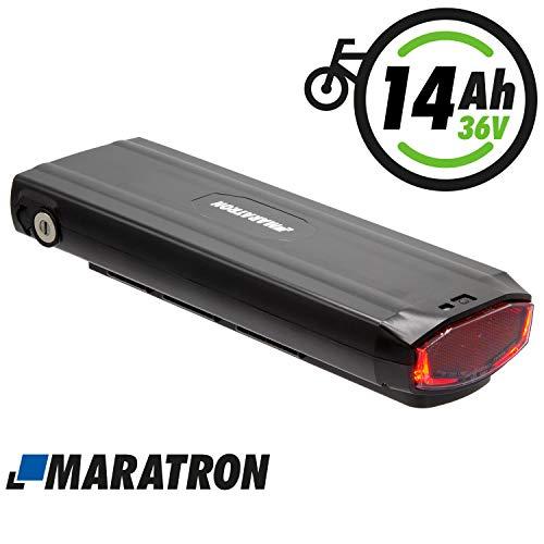 test Maratron 36V 14.5Ah Ersatzbatterie für Stella Elektrofahrrad mit Phylion / Joycube JCEB360 Deutschland