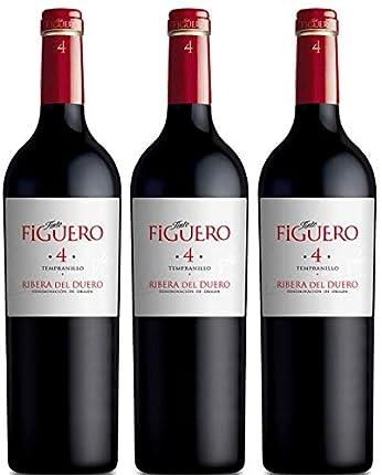 Vinos Figuero (Figuero 4,Vino tinto,Vino ribera del duero, 2250ml)