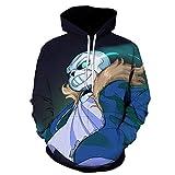 Hombre Mujer Hoodie 3D Impresión Anime HD Sweater Pullover Sudadera con Capucha Ocio Cálido...