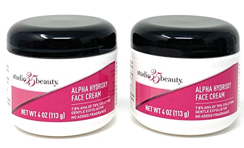 Studio 35 Beauty Alpha Hydroxy Face Cream 4 Oz (2 Pack)