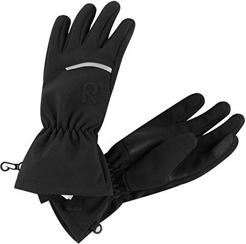 Reima Eidet Kinder Handschuhe, Schwarz, 5