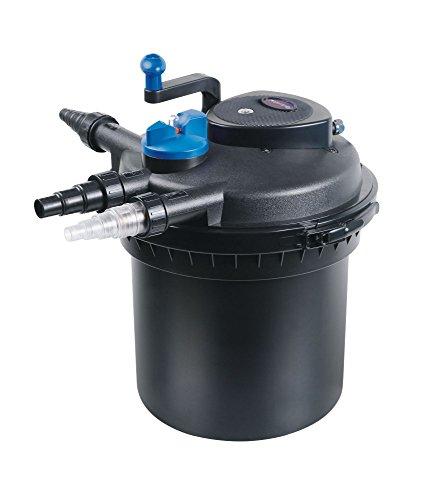 AquaOne CPF 5000 Bio Druckteichfilter 8000l Teichfilter Bachlauf inkl.11 Watt UVC Klärer Druckfilter Bachlauf
