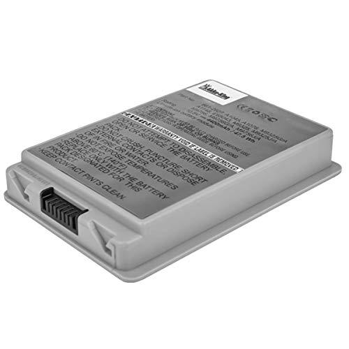 Akku kompatibel mit Apple PowerBook G4 15 Zoll Serien: A1106 - ersetzt A1045, A1078, A1148 - Li-Ion 4400mAh