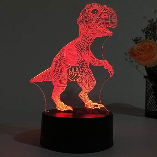 Dinosaurierlampe Einhorn Licht 3D USB LED LichtDekorative LED Touch Kinder Licht Nachtlicht Pegasus