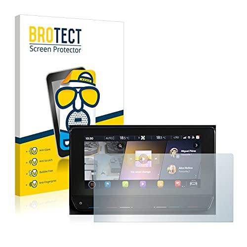 BROTECT Entspiegelungs-Schutzfolie kompatibel mit Cupra Formentor 2021 Infotainment System Displayschutz-Folie Matt, Anti-Reflex, Anti-Fingerprint