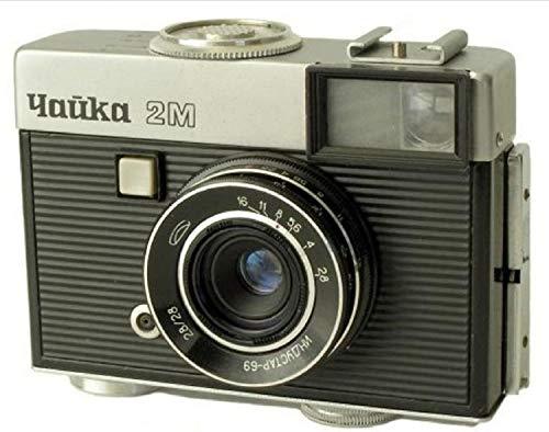 CHAJKA CHAIKA-2M セミサイズ18x24 72フレームソビエトフィルムカメラ