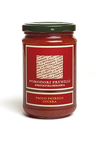Geschälte Prunilli - Kirschomaten Bio in passierten Tomaten 314 ml. - La Motticella - Paolo Petrilli