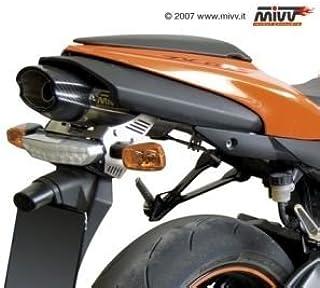 GPR BMW.81.FCB Tubo de escape homologado Furore Carbon compatible con BMW R 850 R 2003 03 2004 04 2005 05 2006 06 2007 07