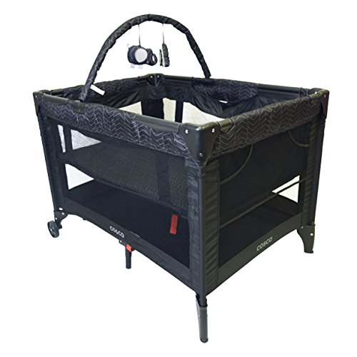 Cosco Funsport Deluxe Playard - Black Arrow