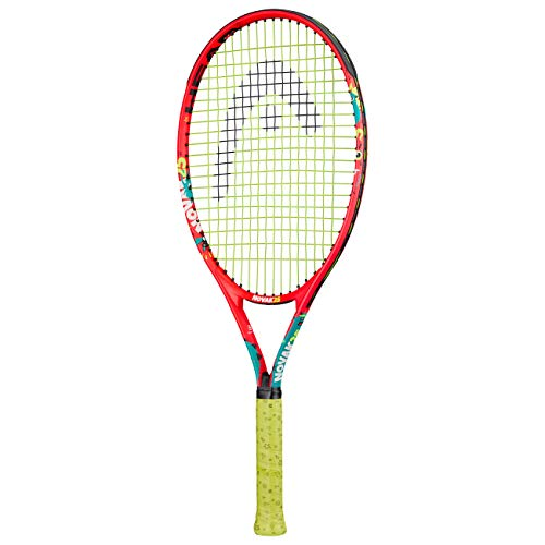 HEAD Novak 25 Raqueta de Tenis, Naranja/Verde Azulado, Talla única
