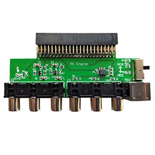 LEXIANG Tarjeta RGBS Amplificador de vídeo Salida de señal RGBS Salida de...