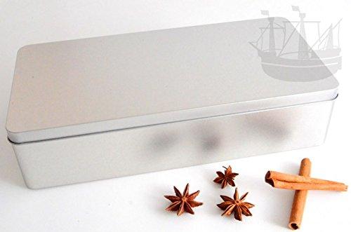 Geschenkdose, Stollendose mit Scharnierdeckel, rechteckig, 320x155x75mm - Bremer Gewürzhandel