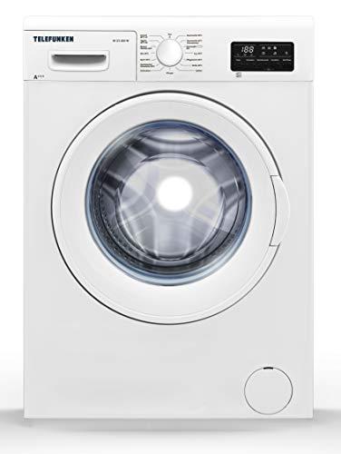 Telefunken W-23-200-W Waschmaschine (7kg / 1400 U/Min) mit Startzeitvorwahl, Mengenautomatik, Überlaufschutz und Allergie-Programm