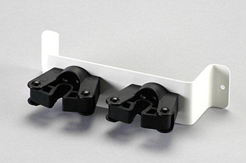 Gehstützenhalterung zur Wandmontage mit flexiblen Toolflex-Gummihalterungen - komfortabel und universell einsetzbar - Durchmesser 20 – 30 mm