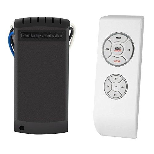 MKISHINE SAGESSE Control Remoto para Ventilador de Techo Controlador de lámpara de Ventilador,Kit de Control Remoto inalámbrico de lámpara de luz de Techo Universal de la lámpara
