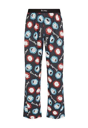 Rick and Morty - Pantalón de Pijama - para Hombre Multicolor Multicolor S