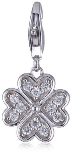 ESPRIT Anhänger Charm Glam Luck 925 Sterling Silber S.ESZZ90851A000