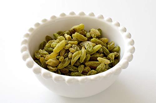 Bio Rosinen grün | im Schatten getrocknet | Rohkost-Rosinen (1kg)