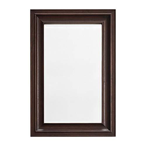 60,9 x 91,4 cm Basics Miroir mural rectangulaire Encadrement classique Laiton