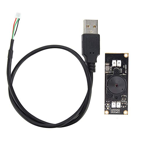 Módulo de cámara USB Sensor de imagen de cámara Chip OV9712 con luz de visión nocturna infrarroja HD 1280x720 30 fps 56 °