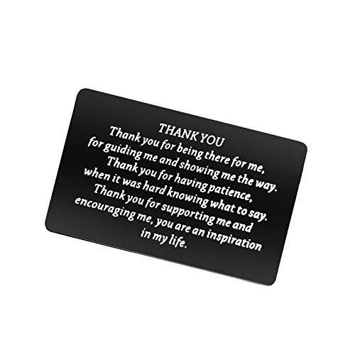 Thank You Gifts Wallet Card for Friends Family Appreciation Gifts for...