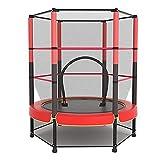 LIULIFE Mit Trittmatte, Sicherheitsnetz, Kinder-Gartentrampolin, Indoor- Und Outdoor-Trampolin, Kinder-Mini-Fitness-Trampolin